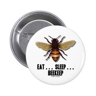 Coma… el sueño… Beekeep la abeja Pins