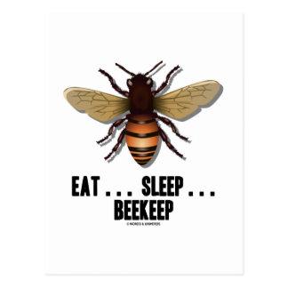 Coma… el sueño… Beekeep la abeja Postales