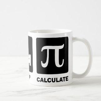 Coma el sueño calculan tazas de café
