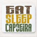 Coma el sueño Capoeira 1 Alfombrillas De Raton