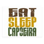 Coma el sueño Capoeira 1 Tarjetas Postales