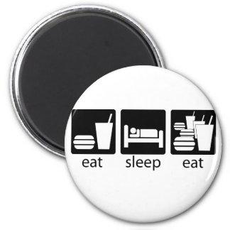 coma el sueño comen mayor imán redondo 5 cm