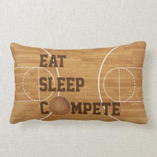 Coma el sueño compiten almohada de la cancha de cojín lumbar