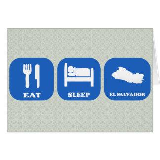 Coma el sueño El Salvador Felicitaciones