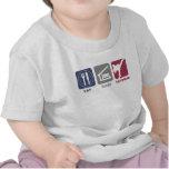Coma el sueño el Taekwondo - individuo Camisetas