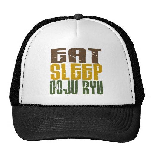 Coma el sueño Goju Ryu 1 Gorros Bordados