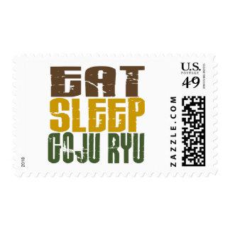 Coma el sueño Goju Ryu 1 Sellos Postales