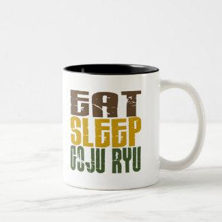 Coma el sueño Goju Ryu 1 Tazas De Café