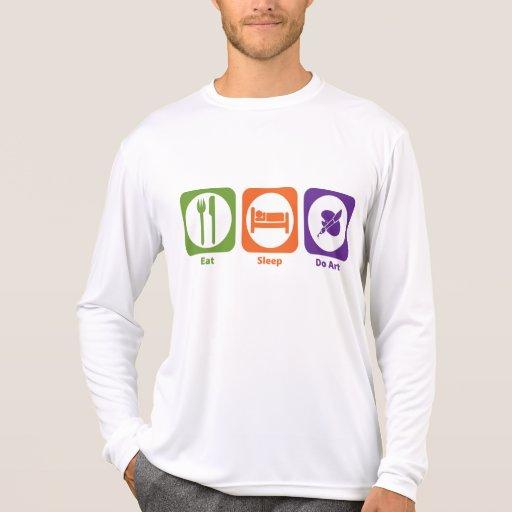 Coma el sueño hacen arte camisetas