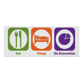 Coma el sueño hacen la economía poster