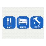 Coma el sueño Italia Tarjetas Postales