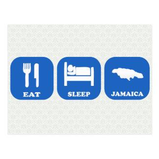 Coma el sueño Jamaica Tarjetas Postales