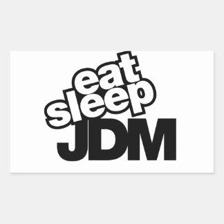coma el sueño JDM Rectangular Altavoces