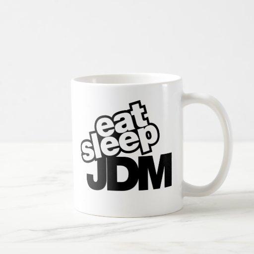 coma el sueño JDM Taza De Café