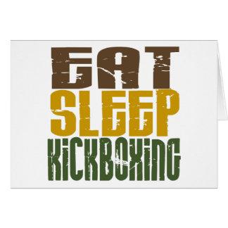 Coma el sueño Kickboxing 1 Tarjetas
