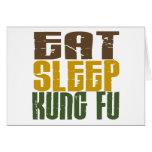 Coma el sueño Kung Fu 1 Tarjeton