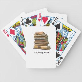 Coma el sueño leído cartas de juego