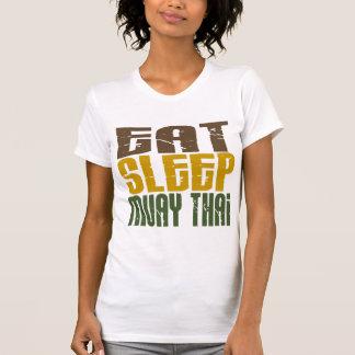 Coma el sueño Muay 1 tailandés Camisetas