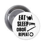 Coma el sueño Oboe Pins