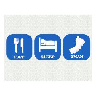 Coma el sueño Omán Postal