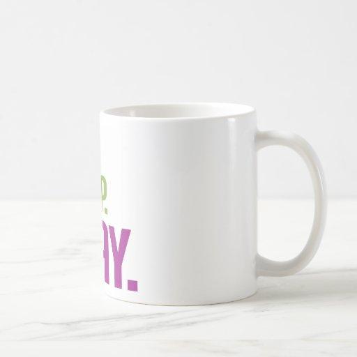 coma el sueño ruegan taza de café