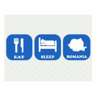 Coma el sueño Rumania Postales
