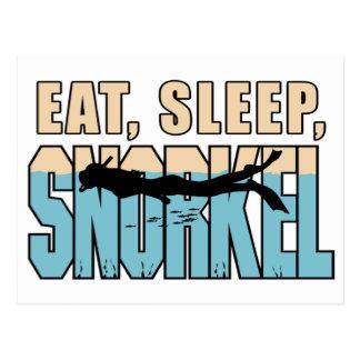 Coma el sueño Snorkle Postal