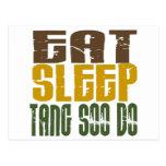 Coma el sueño Tang Soo hacen 1 Postal