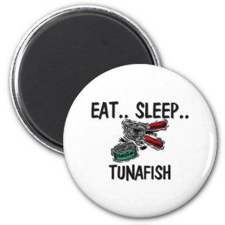 Coma el sueño TUNAFISH Imán Para Frigorifico