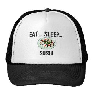 Coma el SUSHI del sueño Gorras