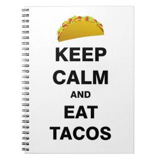 Coma el Tacos Libretas