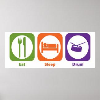 Coma el tambor del sueño posters