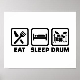 Coma el tambor del sueño póster