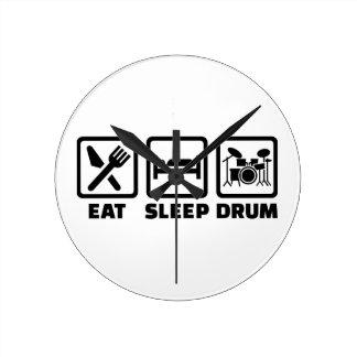Coma el tambor del sueño relojes