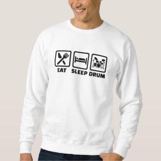 Coma el tambor del sueño sudadera con capucha