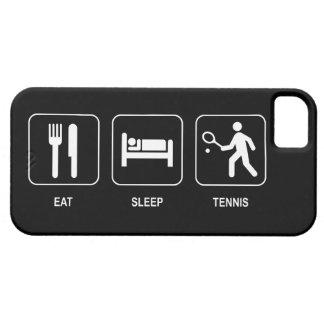 Coma el tenis del sueño iPhone 5 Case-Mate coberturas