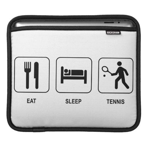 Coma el tenis del sueño funda para iPads