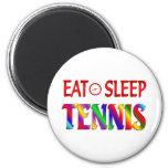 Coma el tenis del sueño imán para frigorífico