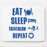 Coma el Triathlon del sueño Tapete De Raton