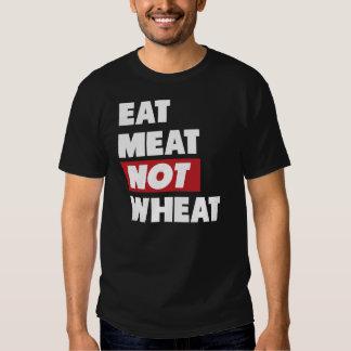 Coma el trigo de la carne no playera