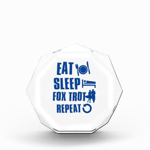 Coma el trote del Fox del sueño