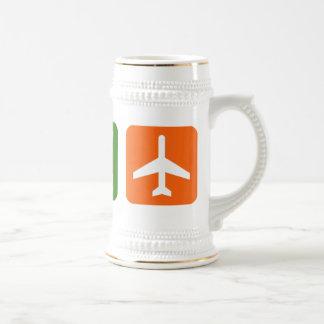 Coma el viaje del sueño tazas de café