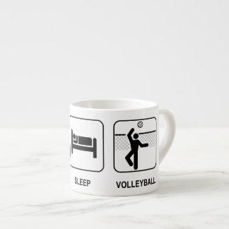 Coma el voleibol del sueño tazita espresso