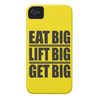 Coma grande, levante grande, consiga grande - Case-Mate iPhone 4 protectores
