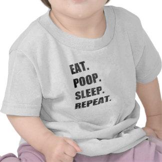 Coma. Impulso. Sueño. Repetición Camiseta