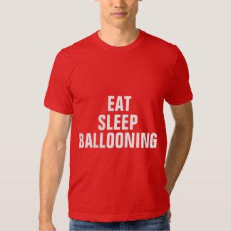 Coma la aerostación del sueño remera