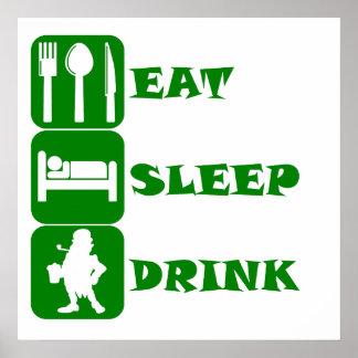 Coma la bebida del sueño impresiones