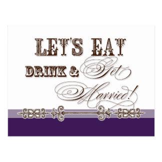 Coma, la bebida n consiguen invitación casada, nup postal
