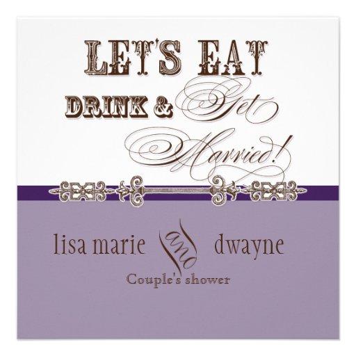 Coma, la bebida n consiguen la invitación casada d