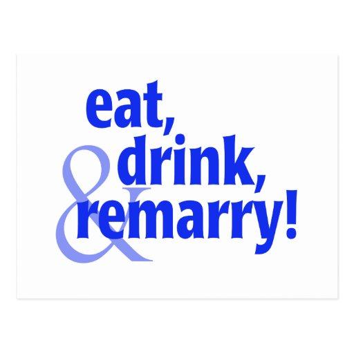 Coma la bebida Remarry Postal